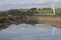 The £2m bridge across River Usk