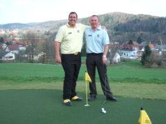 Markus Strobl and Eddie Cooper Huxley Golf Austria