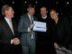 (left to right) Lodewijk Klootwijk (EGCOA), Per Kristoffersen of Losby Golfklubb in Norway, Jerry Kilby (CMAE) & Fabienne Baart (Hotelschool The Hague Performance Management BV).