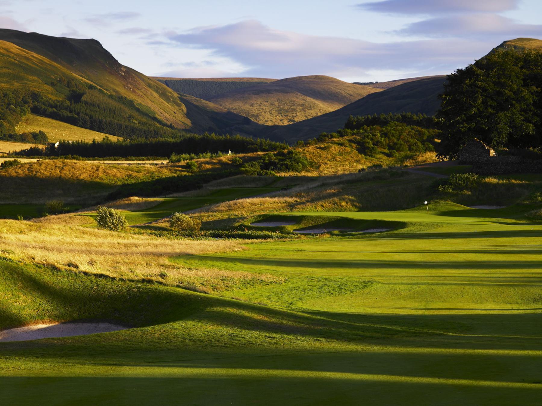 golf scotland: