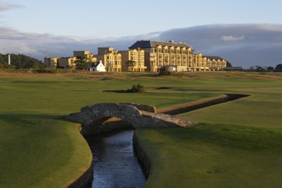 Old Course Hotel, Golf Resort & Spa from the Swilken Bridge