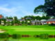 The Belfry 18th Green and Hotel