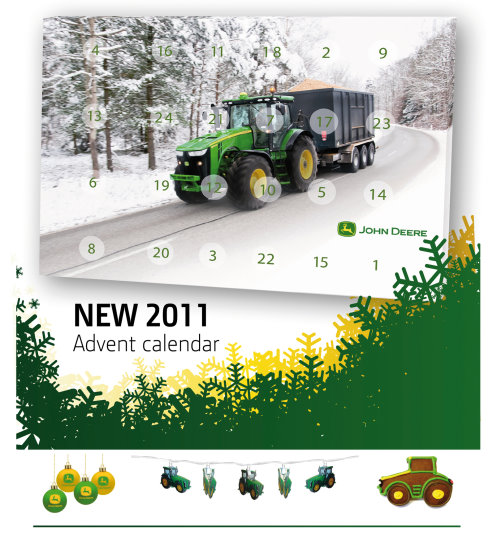 Christmas Treats For 2011 From John Deere 171 Golf Business News