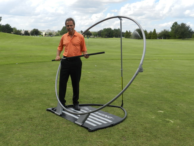 how to build a swing plane trainer