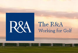 R&A Working for golf logo