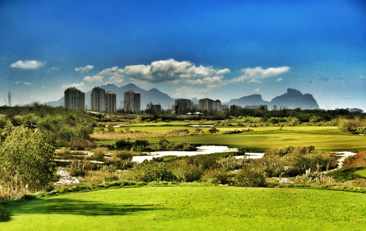 The selected site for Rio 2016