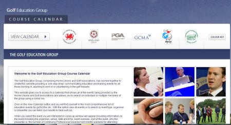 Golf Education Group website