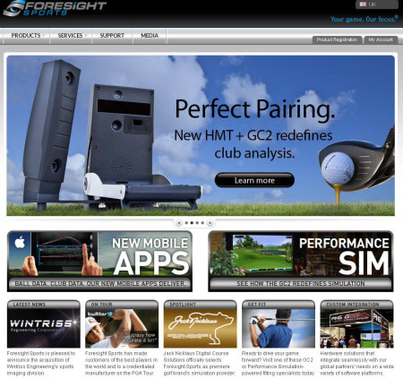 Foresight Sports screengrab