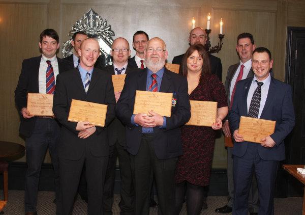 Golf Environment Awards winners
