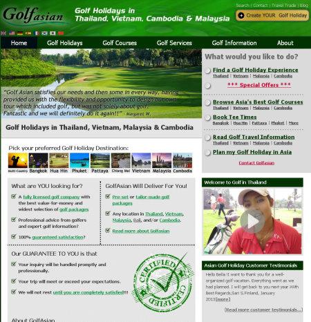 Golfasian screengrab