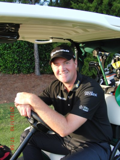 Swedish golf star Peter Hanson is the new face of Oscar Jacobson