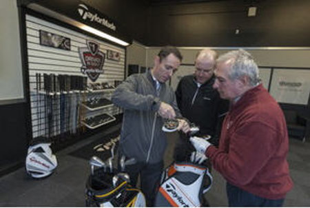 TaylorMade Fitting Centre Celtic Manor