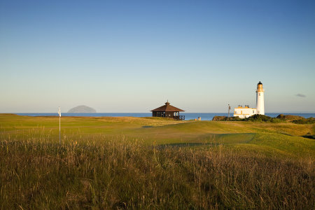 The Ailsa Golf Course 9th Hole