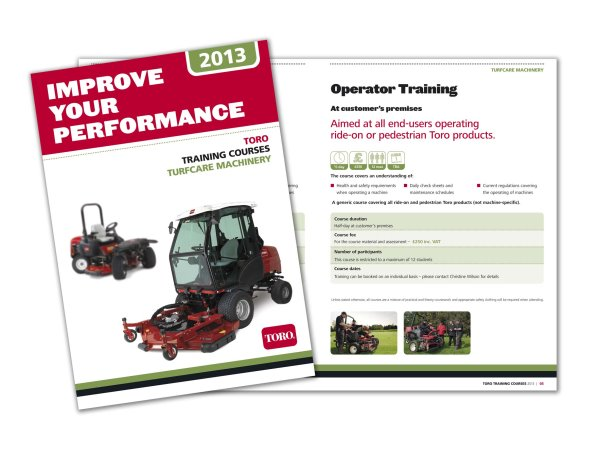 Lely's new Toro Turfcare Machinery Training Guide 2013 is out now