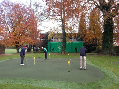 Winchester College Putting Green and Caged Nets