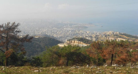 Site of the new  course in Lebanon