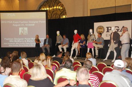 2012 PGA Expo Fasion Panel (courtesy of PGA Golf Shows)