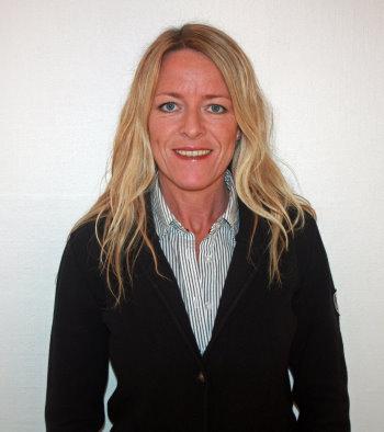 Abacus Sportswear's new sales representative, Marie Olsson