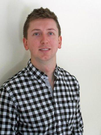 Abacus Sportswear's new sales representative, Jake Oudes
