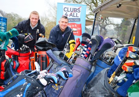 Mytime Active Sports and Events Manager Rob Drinkwater (left) and Mytime Golf's Golf Pro Matt Robbins.