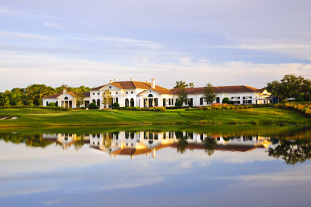 The Concession Golf Club clubhouse (credit Jim Mandeville)