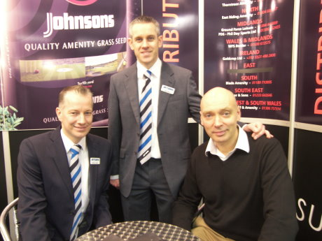 Seen at BTME 2013 are Craig Aitken, Richard Aitken (Jnr) and Derek Smith