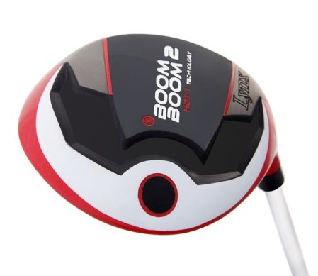 The unique hot gas-filled Boom Boom 2 driver