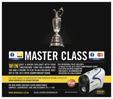 Master Class promotion