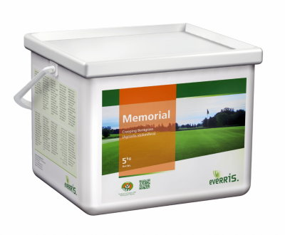 Memorial is the latest high-performing creeping bentgrass from Everris.