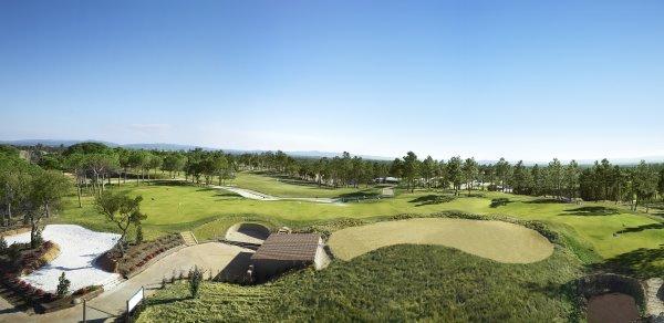 PGA Catalunya Resort's unique approach-play practice area