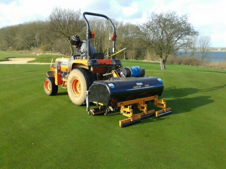 Javelin Aer-Aid 1500 in action at Rutland Water Golf Club