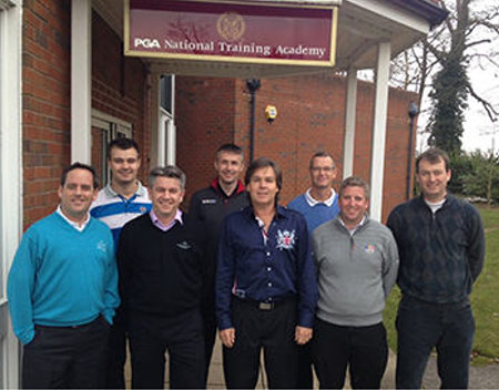The Braemar Golf Team with Legendary Marketing Founder Andrew Wood