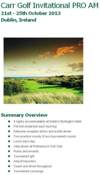 Carr Golf screengrab