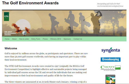 Golf Environment awards