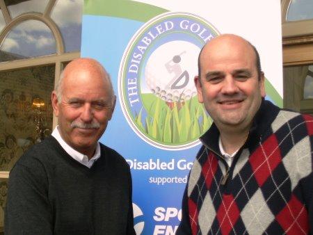 Mark James (left) and Graeme Robertson