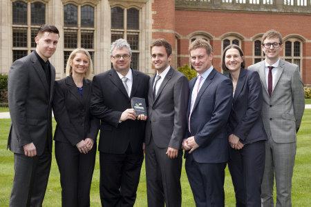 (left to right) Lee Marshall, Louise Davis, Steve Gould, Jack Cole, Chris Murtagh, Sarah Walton and Alex Nicholson (courtesy of Dave Warren)