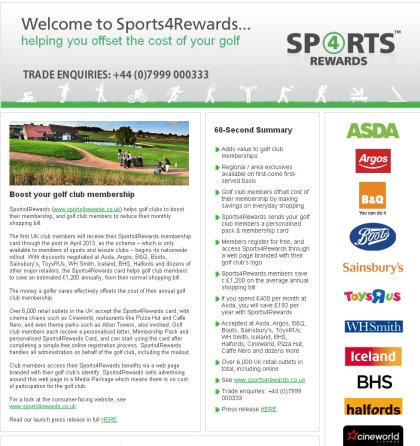 Sports4Rewards trade website
