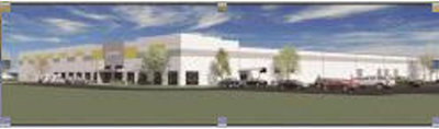 Rendering of TaylorMade's new ball manufacturing plant, set to open January 2014