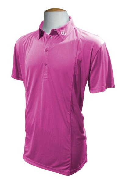 druh polo shirt in purple RRP US$60/UK£40