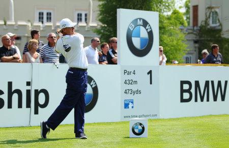Ernie Els at 2012 BMW PGA Championships