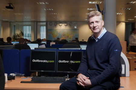 Golfbreaks.com Chief Executive, Andrew Stanley