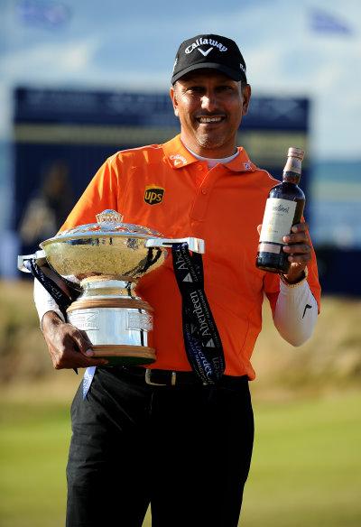 Last year's Aberdeen Asset Management Scottish Open winner, India's Jeev Milkha Singh (Getty Images)