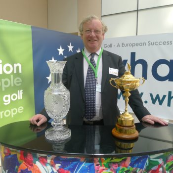 Geoff with cups