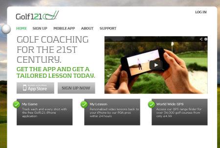Golf121 website