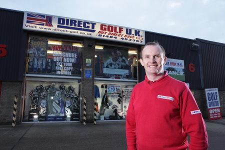 John Andrew, Chairman Direct Golf UK