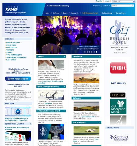 KPMG GBF Website