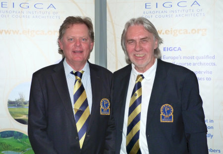 Peter Fjallman, left, and Rainer Preissmann