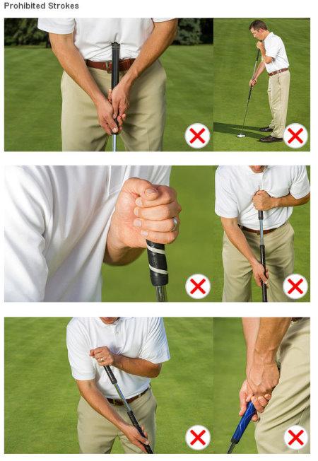 Prohibited strokes
