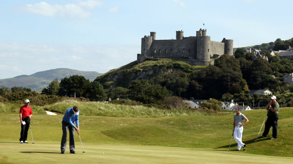 Royal St David's links, Harlech (courtesy of Ross Kinnaird at Getty Images)
