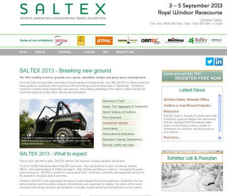 SALTEX website